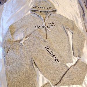 Hollister hoodie sweatsuit